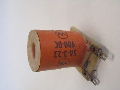 NOS WILLIAMS BALLY PINBALL MACHINE SA-3-23 900-DC COIL SOLENOID WITH DIODE