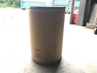 Lock Rim Fiber Barrel - 30 Gallon Drum - 17 X 25-34 W Locking Lid