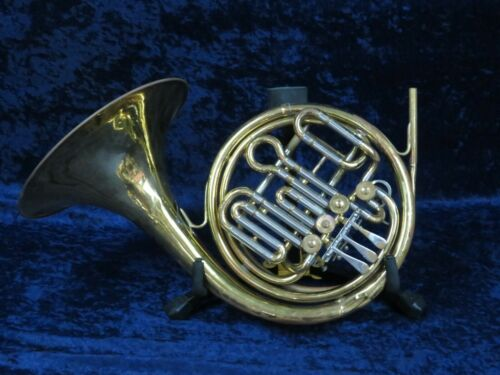 Getzen Double French Horn Ser#55718 Plays Well