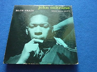 JOHN COLTRANE  Blue Train 1st Blue Note 1577 Vinyl LP DG W 63 NY 23 EAR RVG Mono