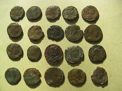 Lot of 10 Premium Roman Ancient Bronze Coins