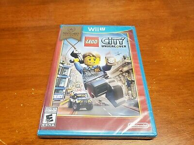 LEGO City Undercover (Nintendo Wii U, 2016) BRAND NEW SEALED