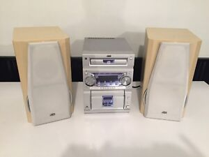 JVC home stereo system