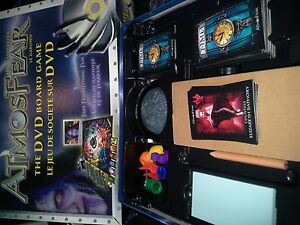 Atmosfear Dvd board game complete London Ontario image 1