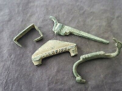 Roman to post Medieval bronze buckle parts as photos! as found condition. L131f