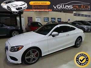 2017 Mercedes-Benz C-Class C300| COUPE| 4MATIC| AMG SPORT