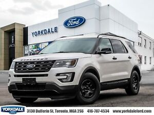 2016 Ford Explorer Sport Sport, Leather, Sunroof, Navigation, AW
