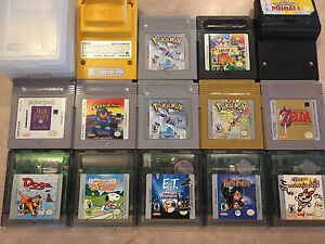 Gameboy games and  gameBoy camera