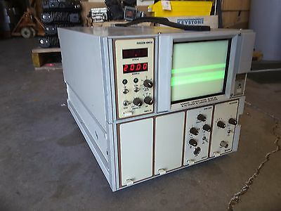 Xenotec 500abx Atd-1 Xuc-4 F Tektronix Tm504 Scanner Pulser Receiver Biometer
