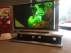 Sony 60 inch SXRD tv with stand
