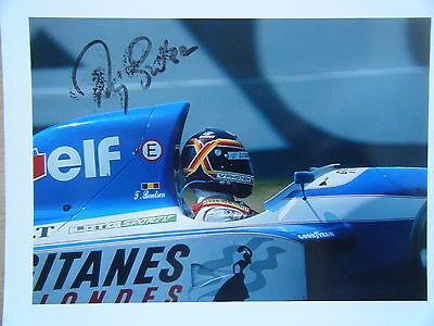 Thierry Boutsen - Ligier Renault Gitanes Blondes JS 37 signed 1992 Formula 1