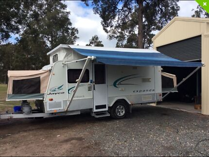 ***REDUCED***Jayco Expanda 16.49.3 outback family van with shower/toilet Newcastle 2300 Newcastle Area Preview
