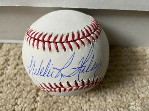 Nikki Haley Signed Official MLB Baseball Sweet Spot Auto Autograph 2024 Pres