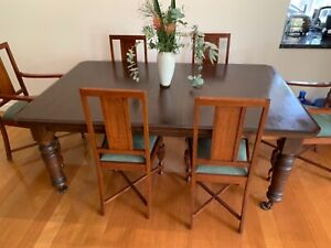 Dining setting - extendable table 6 chairs