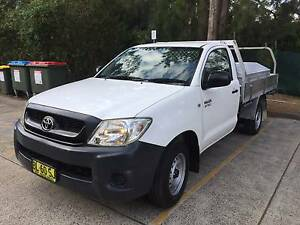 2011 Toyota Hilux Workmate Frenchs Forest Warringah Area Preview