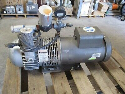 Gast Pump With Electric Motor Mn 2567-p102 520150b Parts Only