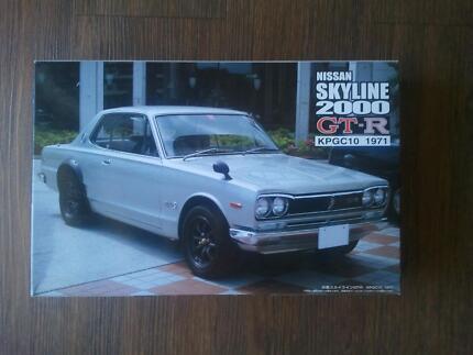 Nissan Skyline 2000 GT-R Fujimi 1:24 model Made in Japan