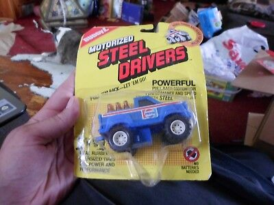 """1987 BUDDY-L """"PEPSI-COLA"""" MOTORIZED STEEL DRIVERS DELIVERY PICK-UP TRUCK #"""