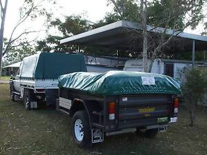 Trackabout Off-road Soft floor Camper Trailer Gladstone Gladstone City Preview