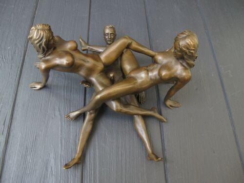 BRONZE  EROTIC  sexual erotic  statues sculpture figurine RARE