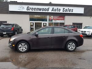 2015 Chevrolet Cruze 1LT PRICED TO MOVE! FINANCE NOW!