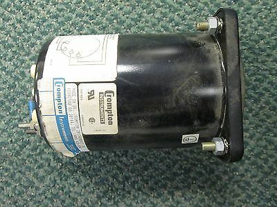 Crompton Power Factor Meter 077-427aqqad Range - .5 120v Used