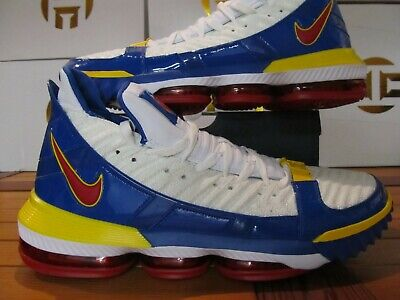 Nike LeBron XVI 16 SB Superman SuperBron PS 12C PreSchool Basketball CJ4771 100
