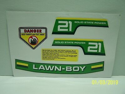 Lawn Boy Mower R7070 Decal Set!