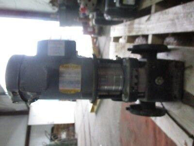 Grundfos Cr2 Iron Pump W Baldor .75hp Motor 423722j Used