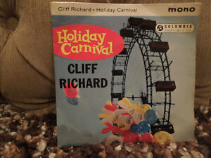 Cliff Richard Holiday Carnival RARE Mono 7