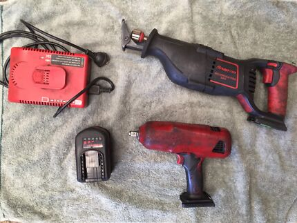 Snap on tools pack , Reciprocator saw (resipro saw),rattle gun, bag
