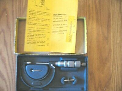 Ammcol Tools Disc Brake Micrometer Pointed With Box Nice Condition-- Rare Find
