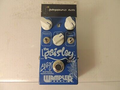 Wampler The Paisley Drive Brad Paisley Signature Overdrive Effects Pedal