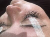 Eyelash extensions! High quality classic and 2D