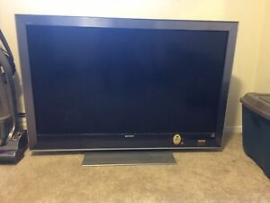 "60"" Sony plasma flat screen tv"