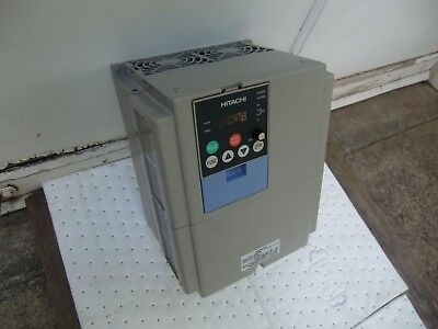 Hitachi Inverter L300p-075hbrm Variable Frequency Drive 10hp Unit. Refurbished
