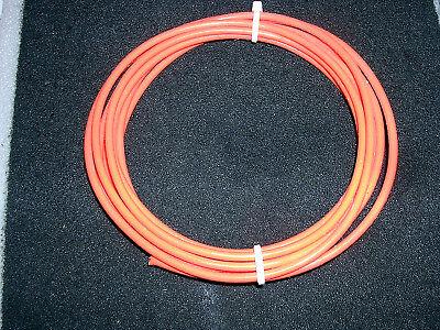 10 Awg Mil Spec M168784 Xe Ptfe Teffon Silver Plated Wire 10 Feet Orange