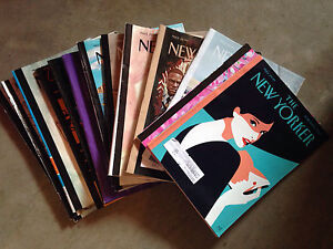 14 editions of The New Yorker