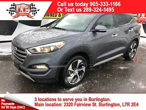 2017 Hyundai Tucson Limited, Auto, Leather, Panoramic Sunroof, A