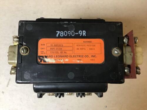 Ward Leonard RDP1-21100 Contactor With 120 Volt Coil