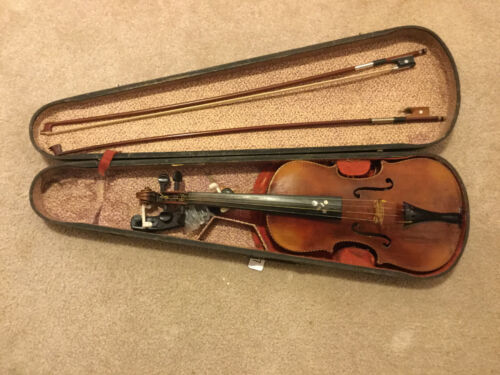 Old Full Size 4/4 Violin --SUSPEND SHIPPING