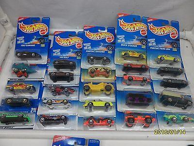 LOT 36 HOT WHEELS CARS & YEARS RANDOMLY PICKED  # 1