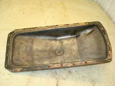 1963 Case 831 Tractor Engine Oil Pan 830