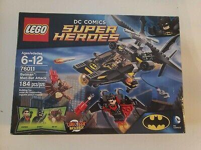 LEGO Batman Man-Bat Attack (76011). NEW! Sealed!