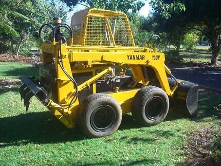 BOBCAT Yanmar skid steer diesel Y30W with rear hydraulic rippers Tinana South Fraser Coast Preview