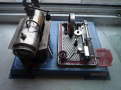 Dampfmaschine Wilesco D16 mit Zubehör / 70er Jahre