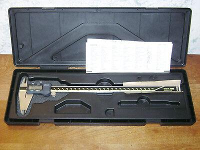 Mitutoyo 12 Inch Digital Caliper No 500-193 W Case - Japan
