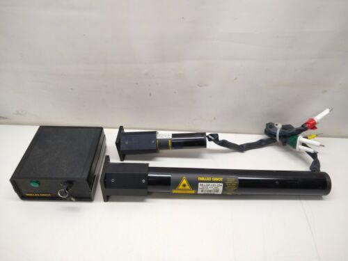 Melles Griot 05-LGP-151-234, 05-LHP-213-521 Green HeNe Laser System