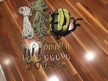 Rock Climbing rope carabiners quickdraw bag