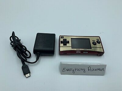 Nintendo Game Boy Micro 20th Anniversary Edition Famicom Red Gold OXY-001